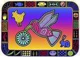 H Hummingbird Art Print