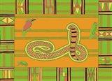 K King Cobra Art Print