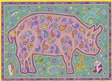 P Pig Art Print