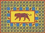 T Tiger Art Print