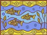 X Xray Fish Art Print