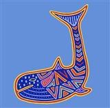 1 Whale Art Print