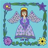 Flower Angel Art Print