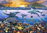 Undersea League Art Print