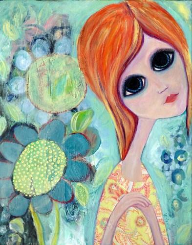 Big Eyed Girl Hope Garden