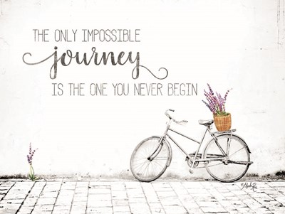 Impossible Journey Art Print by Rae