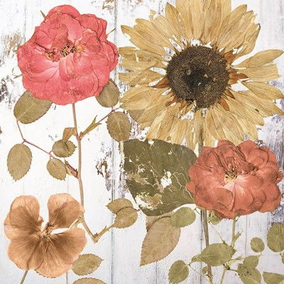 Earth to Petals I Art Print by Sophie 6