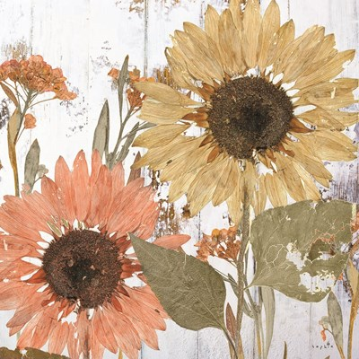 Earth to Petals II Art Print by Sophie 6