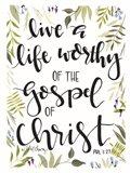 The Gospel of Christ Art Print