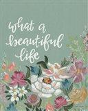 What a Beautiful Life Art Print
