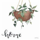 Home Is Where Your Plants Are Art Print