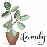 Plant Family Art Print