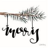 Merry Art Print