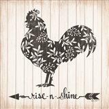 Rise N Shine Rooster Art Print