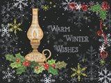 Warm Winter Wishes Art Print