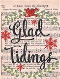 Glad Tidings Art Print