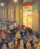 Riot in the Gallery, 1910 Art Print