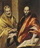 Saints Peter and Paul Art Print