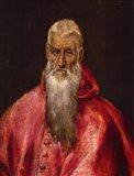 Saint Jerome as a Cardinal Art Print