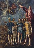 Martyrdom of St Maurice and the Theban Legion, c 1580-1852 Art Print