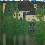Unterach Manor On The Attersee Lake In Austria,  1915-1916 Art Print