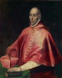 Cardinal Juan de Tavera (d1545), founder of the Tavera Hospital Art Print