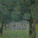 Upper Austrian Farmhouse, 1914 Art Print