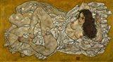 Reclining Woman, 1917 Art Print
