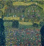 Country House on Attersee Lake, Upper Austria, 1914 Art Print