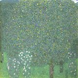 Roses Under The Trees,  c. 1905 Art Print