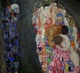 Life And Death (Tod Und Leben) Art Print