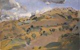 Landscape in Provence Art Print