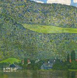 Litzlberg on Lake Attersee, Austria. 1915 Art Print