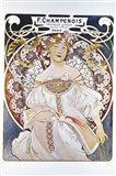F Champenois, Paris 1898 Art Print