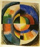 Playing Forms - Spielende Formen, 1914 Art Print