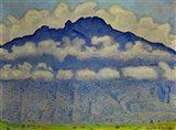 Landscape In The Berne Oberland (Die Schynige Platte), 1909 Art Print