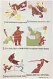 Soviet Poster Against Wrangel'S White Guards 1920 Art Print