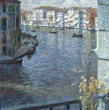 The Canal Grande in Venice Art Print
