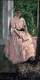 Portrait of Mrs Ljubatovic Art Print