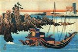 Chinese Fishermen in their Boats Art Print