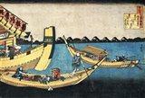 A Summer Sight on the River Sumida Art Print