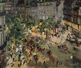 Boulevard des Capucines, Paris Art Print