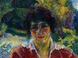 Portrait of Signora Armida Brucky 1909 Art Print