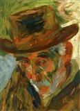 Head of an Old Man 1909 Art Print