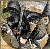 Dynamism of Man's Head 1914 Art Print