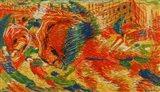 The Rising City (La Citte Che Sale) Art Print