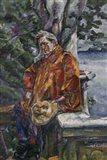 Portrait of Maestro Ferruccio Busoni 1916 Art Print