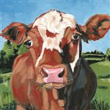 Henry the Hereford Art Print