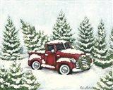 Tree Farm Tradition Art Print