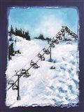 Chairway to Heaven Art Print